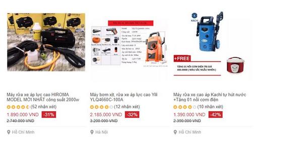 Cần tậu máy rửa xe gia đình loại nào rẻ, giá thấp nhất hiện nay? 3