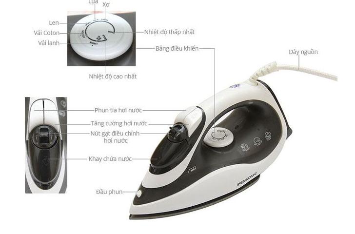 Mua bàn ủi hơi nước cầm tay giá tốt Philips, Electrolux hay Sokany? 2