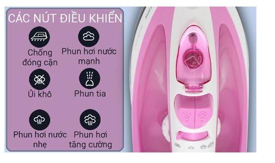 Mua bàn ủi hơi nước cầm tay giá tốt Philips, Electrolux hay Sokany? 3