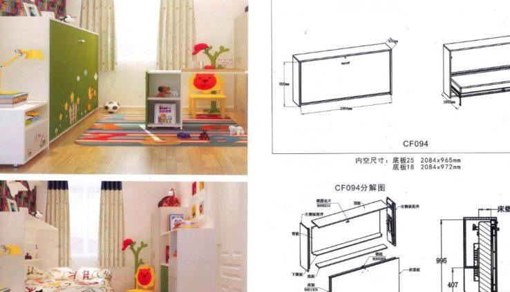 Phụ kiện giường xếp thông minh, cấu tạo và mẫu giường xếp 1