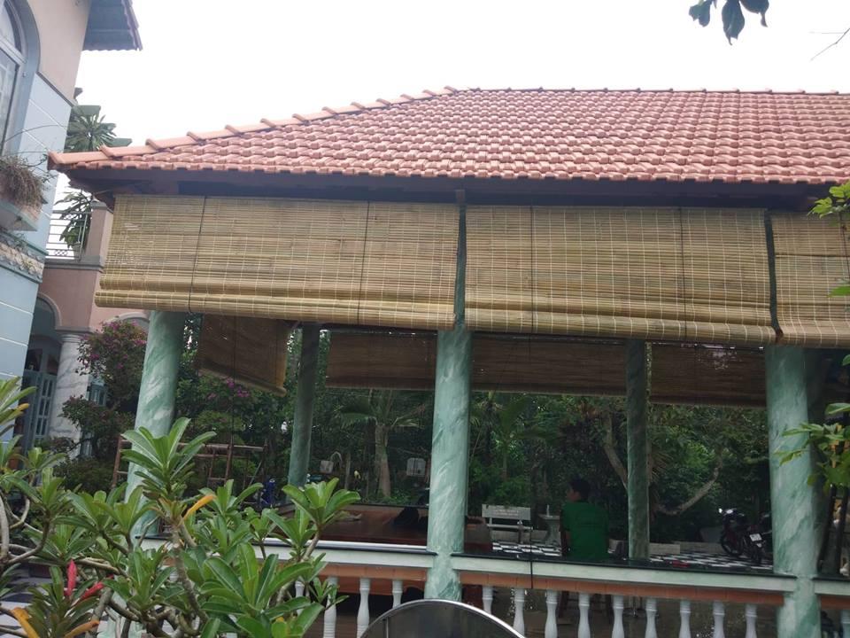 Mành tre trúc che nắng ban công