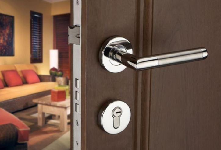 Khóa cửa tay gạt – Cấu tạo và những lưu ý khi sử dụng khóa tay gạt an toàn